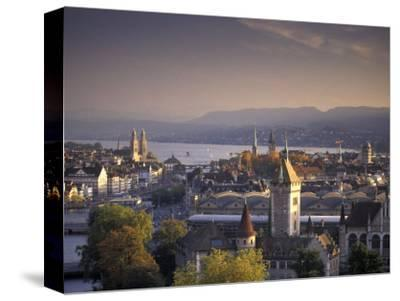 View of Zurich, Switzerland from Hotel Zurich