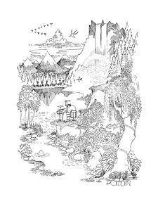 New Yorker Cartoon by Richard Oldden