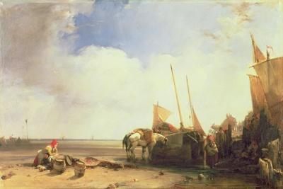 Coastal Scene in Picardy, C.1826