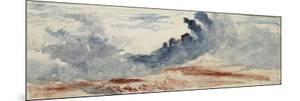 Etude de nuages by Richard Parkes Bonington