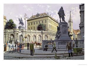 The Albertina, Vienna by Richard Pokorny