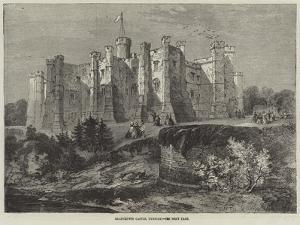 Brancepeth Castle, Durham by Richard Principal Leitch
