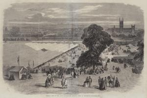 General View of the Royal Agricultural Society's Show at Canterbury by Richard Principal Leitch