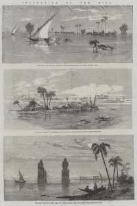 Inundation of the Nile by Richard Principal Leitch