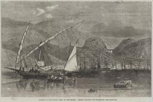 Patras, on the North Coast of the Morea, Vessels Waiting for Currants by Richard Principal Leitch