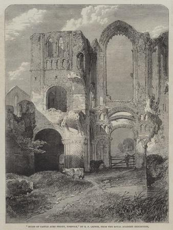 Ruins of Castle Acre Priory, Norfolk