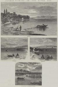 Salmon-Fishing on the River Tay by Richard Principal Leitch