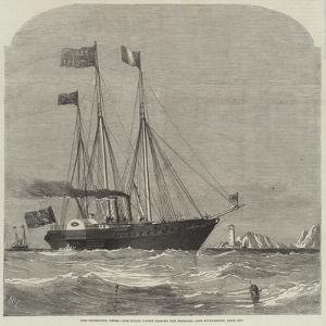 The Cherbourg Fetes, the Royal Yacht Passing the Needles by Richard Principal Leitch