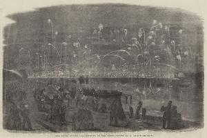 The Naval Review, Illumination of the Fleet by Richard Principal Leitch