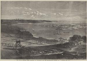 The Naval Review, the Flotilla of Gun-Boats Off the Motherbank by Richard Principal Leitch