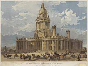 The New Town-Hall, Leeds, Opened by Her Majesty by Richard Principal Leitch
