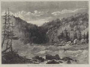 The Niagara Above the Falls by Richard Principal Leitch
