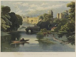 The Queen's Visit to Warwickshire, Warwick Castle by Richard Principal Leitch