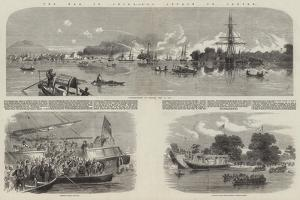 The War in China, the Attack on Canton by Richard Principal Leitch