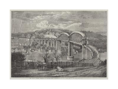 Thr Royal Albert Viaduct at Saltash