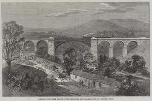 Viaduct on the Lime Branch of the Lancaster and Carlisle Railway by Richard Principal Leitch