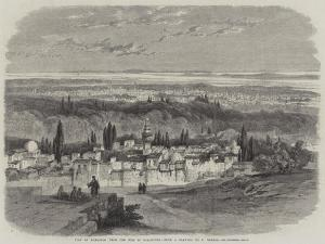 View of Damascus from the Hill of Salahiyeh by Richard Principal Leitch