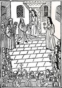 Treaty of Marriage Between Charles V and Princess Mary Tudor, C1508 by Richard Pynson
