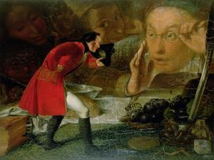 Gulliver Exhibited to the Brobdingnag Farmer by Richard Redgrave