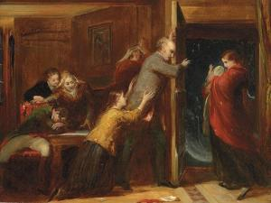 Sketch for 'The Outcast', 1851 by Richard Redgrave