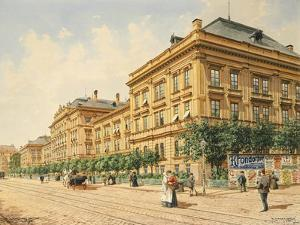 Spittalgasse in Vienna, 1904 by Richard Redgrave