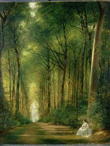 The Beech Avenue, Denbies, 1870 by Richard Redgrave