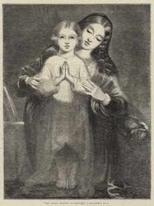 The Child's Prayer by Richard Redgrave