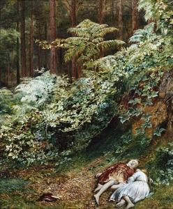 The Children in the Wood, Morning by Richard Redgrave