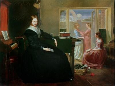 The Governess, 1844 by Richard Redgrave