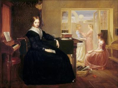 The Governess, c.1844