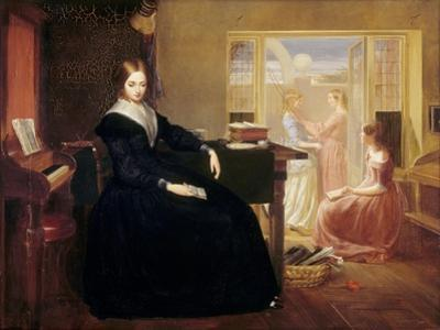 The Governess, c.1844 by Richard Redgrave