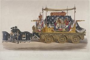 View of the Funeral Car of the Duke of Wellington, 1852 by Richard Redgrave