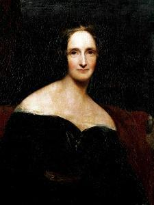 Mary Shelley, C.1840 by Richard Rothwell