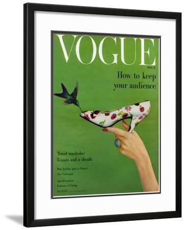 Vogue Cover - April 1957