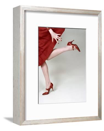 Vogue - February 1958 - Fleming-Joffe Red Heels