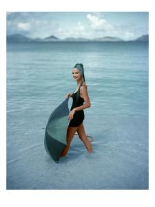 Vogue - January 1957 by Richard Rutledge