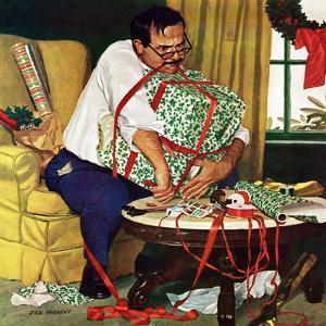 """""""All Wrapped Up in Christmas"""", December 19, 1959 by Richard Sargent"""