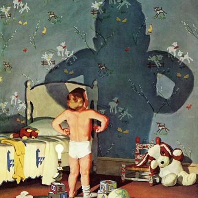 """Big Shadow, Little Boy,"" October 22, 1960 by Richard Sargent"