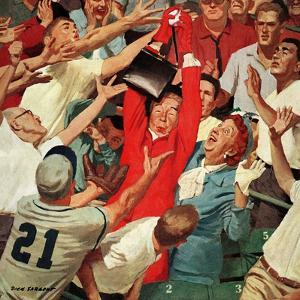 """""""Grandma Catches Fly-ball,"""" April 23, 1960 by Richard Sargent"""