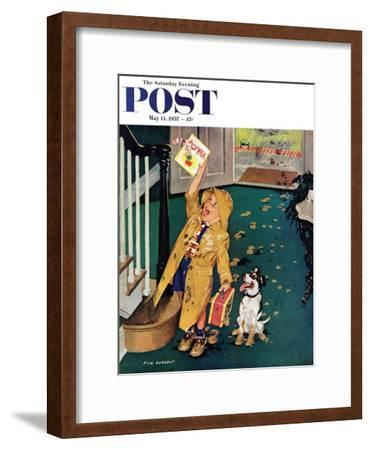 """Happy Mother's Day"" Saturday Evening Post Cover, May 11, 1957"
