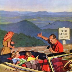 """""""Lookout Point"""", July 18, 1953 by Richard Sargent"""