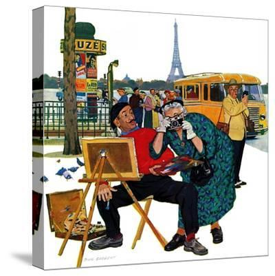 """Parisian Artist & Tourist"", July 11, 1959"