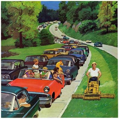 """Speeder on the Median,"" June 2, 1962"