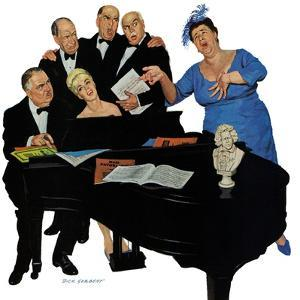 """""""The Fat Lady Sings,"""" December 16, 1961 by Richard Sargent"""