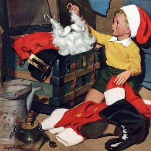 """""""Truth About Santa"""", December 15, 1951 by Richard Sargent"""