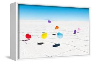 Balloons Three, Salar de Uyuni, Bolivia by Richard Silver