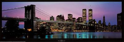 Brooklyn Bridge and New York City Skyline by Richard Sisk