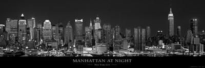 Manhattan at Night, New York City