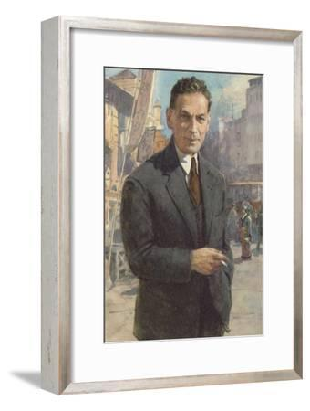 Richard Sorge, German Communist Spy--Framed Giclee Print