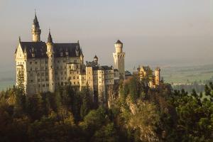 Neuschwanstein Castle by Richard T. Nowitz